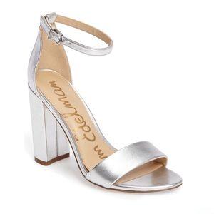 🆕 Sam Edelman Yaro Ankle Strap Sandals in silver